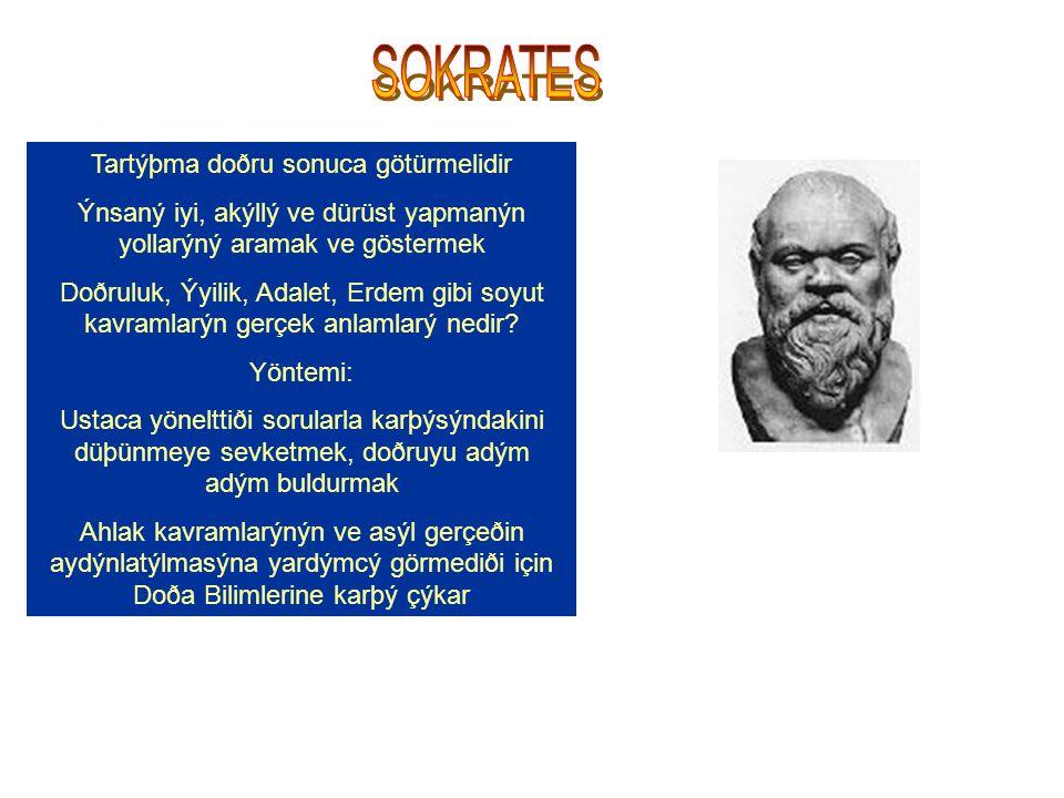 SOKRATES Tartýþma doðru sonuca götürmelidir