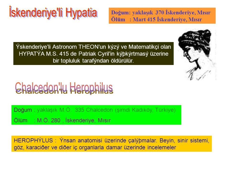 İskenderiye li Hypatia