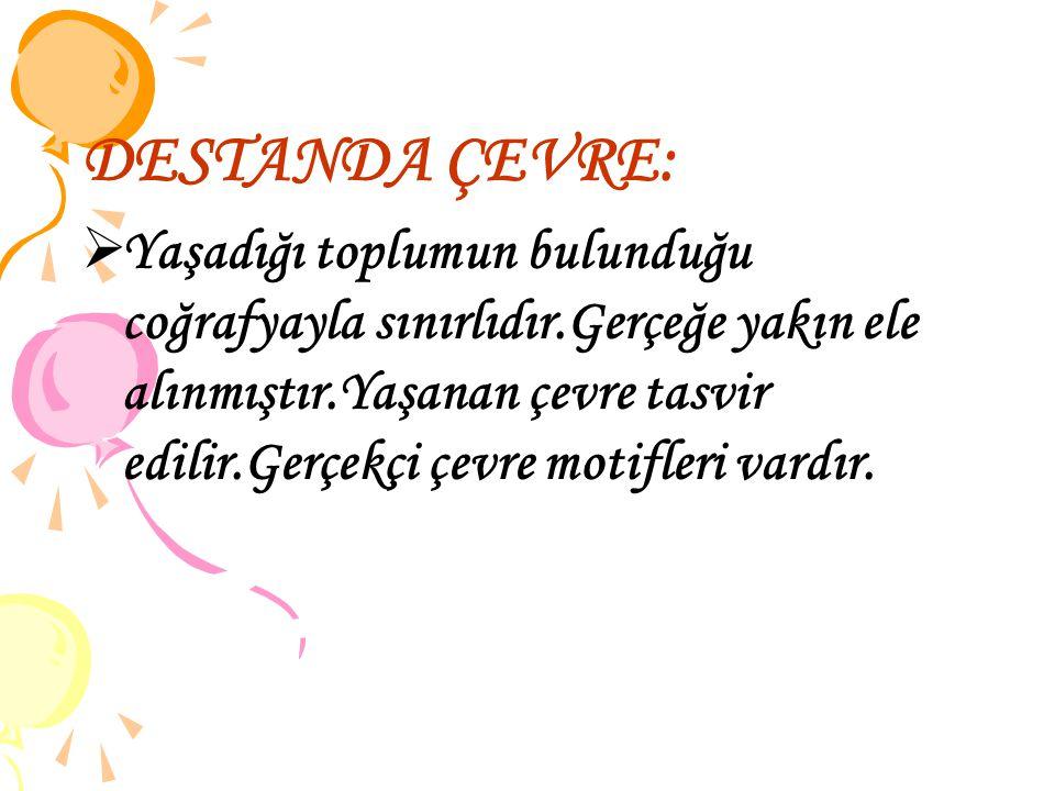 DESTANDA ÇEVRE: