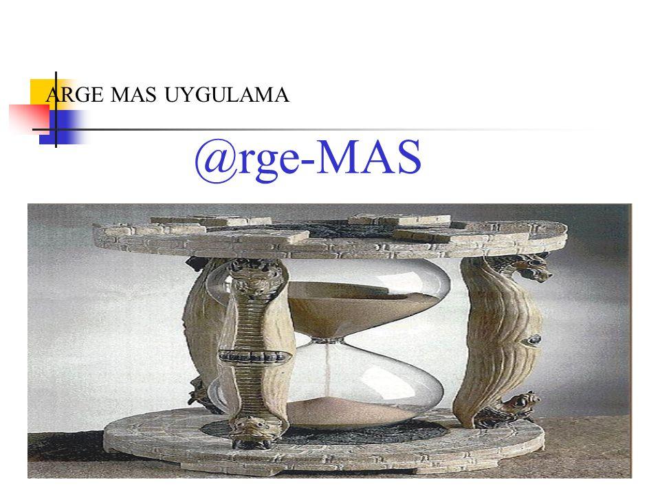 ARGE MAS UYGULAMA @rge-MAS