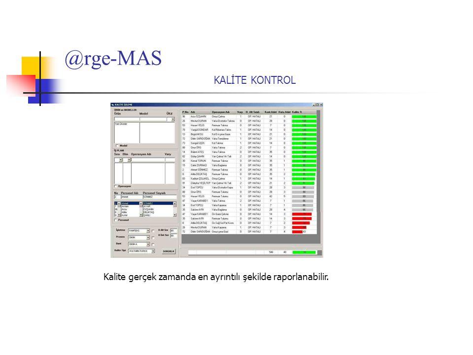 @rge-MAS KALİTE KONTROL