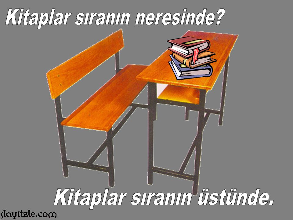 Kitaplar sıranın neresinde