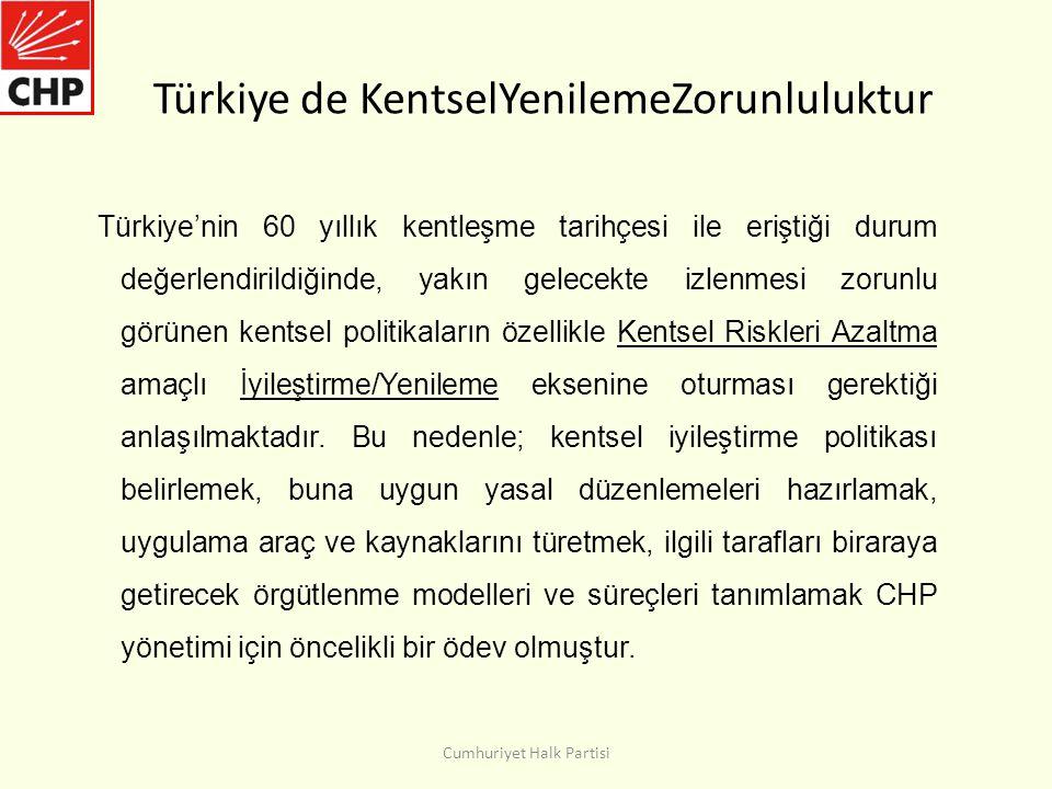 Türkiye de KentselYenilemeZorunluluktur