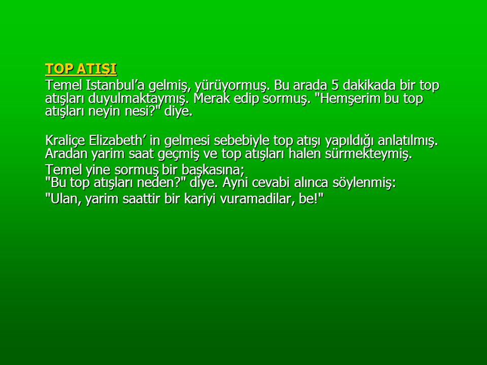 TOP ATIŞI