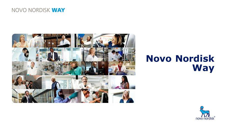 Presentation title Novo Nordisk Way