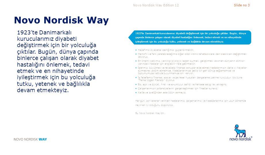 Novo Nordisk Way