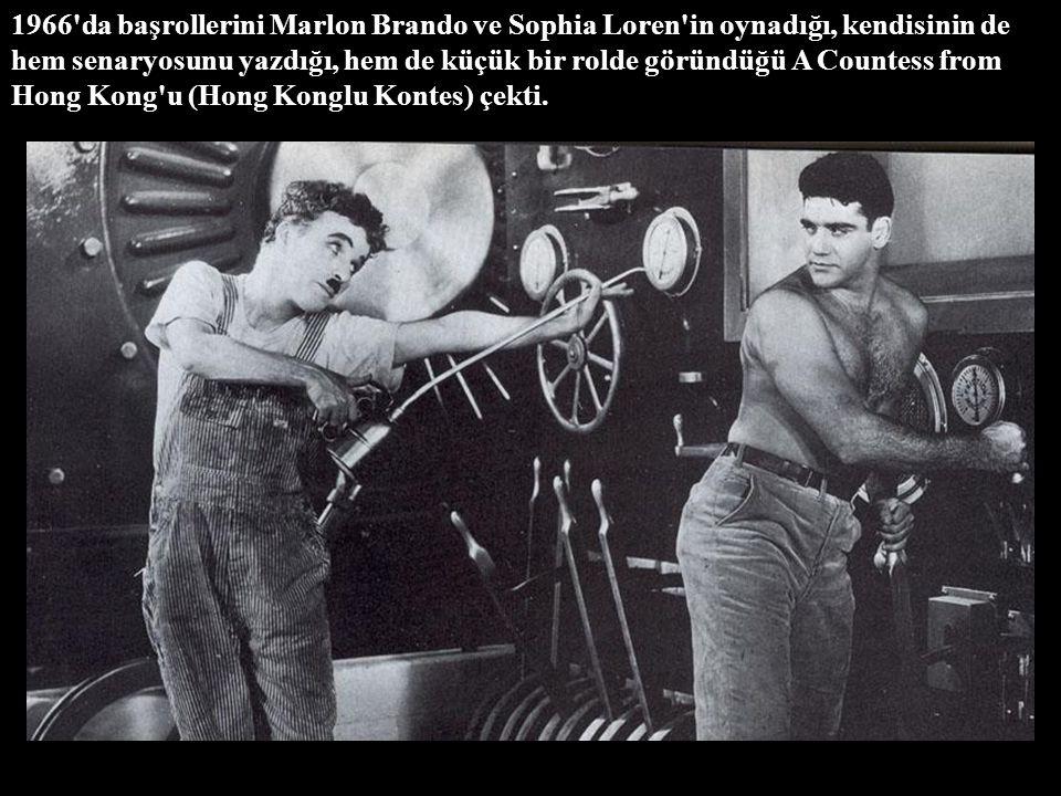1966 da başrollerini Marlon Brando ve Sophia Loren in oynadığı, kendisinin de hem senaryosunu yazdığı, hem de küçük bir rolde göründüğü A Countess from Hong Kong u (Hong Konglu Kontes) çekti.