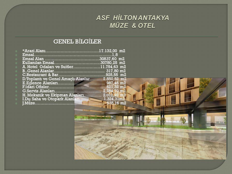ASF HİLTON ANTAKYA MÜZE & OTEL