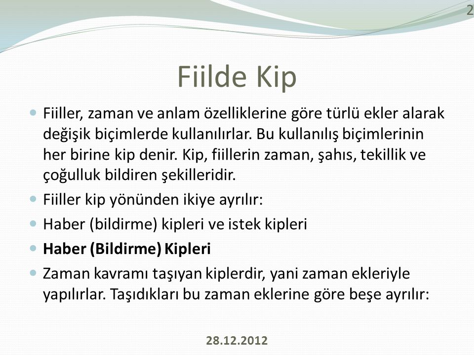 Fiilde Kip