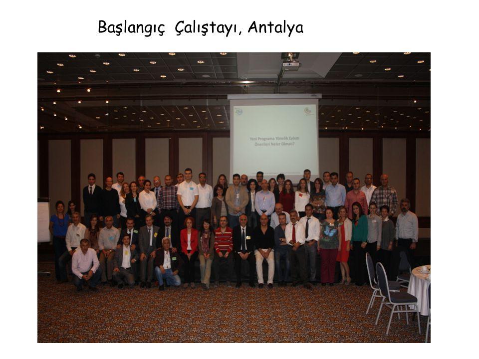 Başlangıç Çalıştayı, Antalya