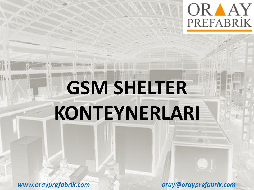 GSM SHELTER KONTEYNERLARI