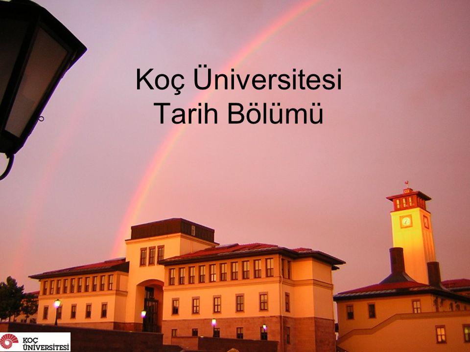 Koç Üniversitesi Tarih Bölümü