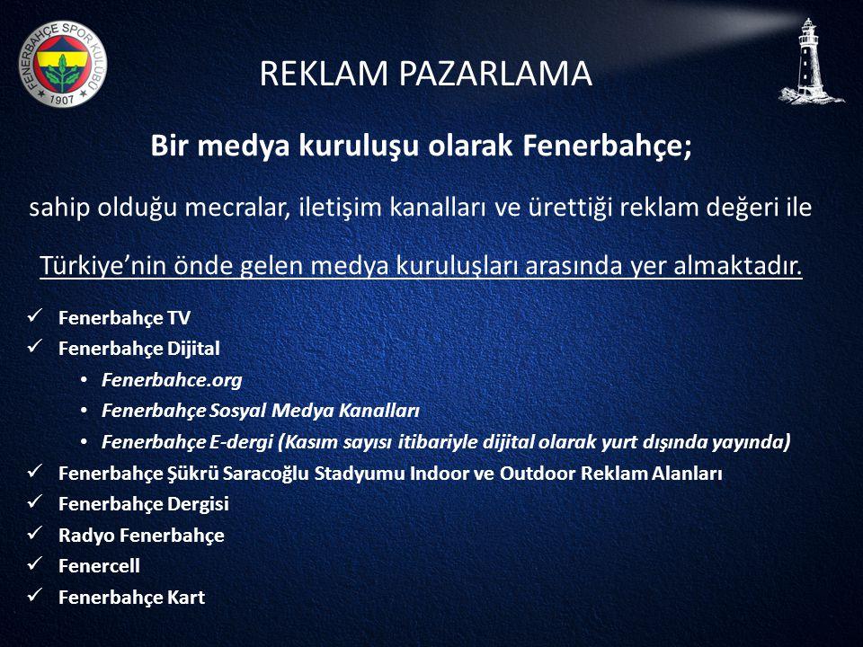 Bir medya kuruluşu olarak Fenerbahçe;