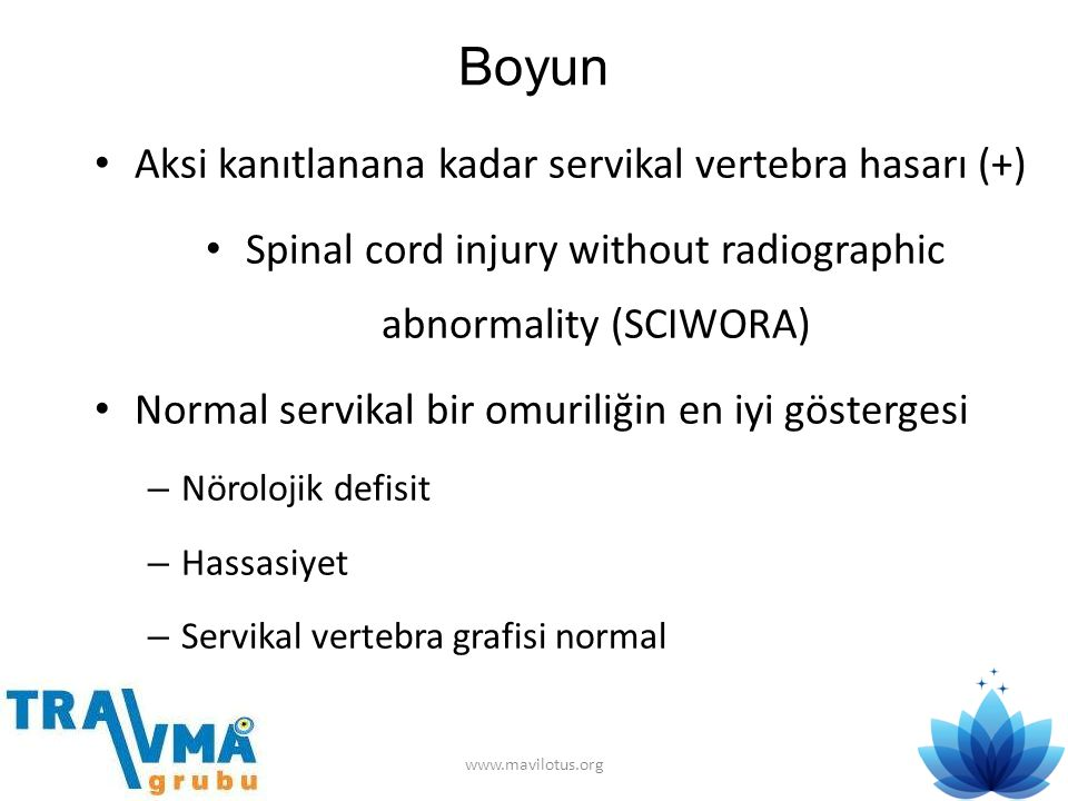Spinal cord injury without radiographic abnormality (SCIWORA)