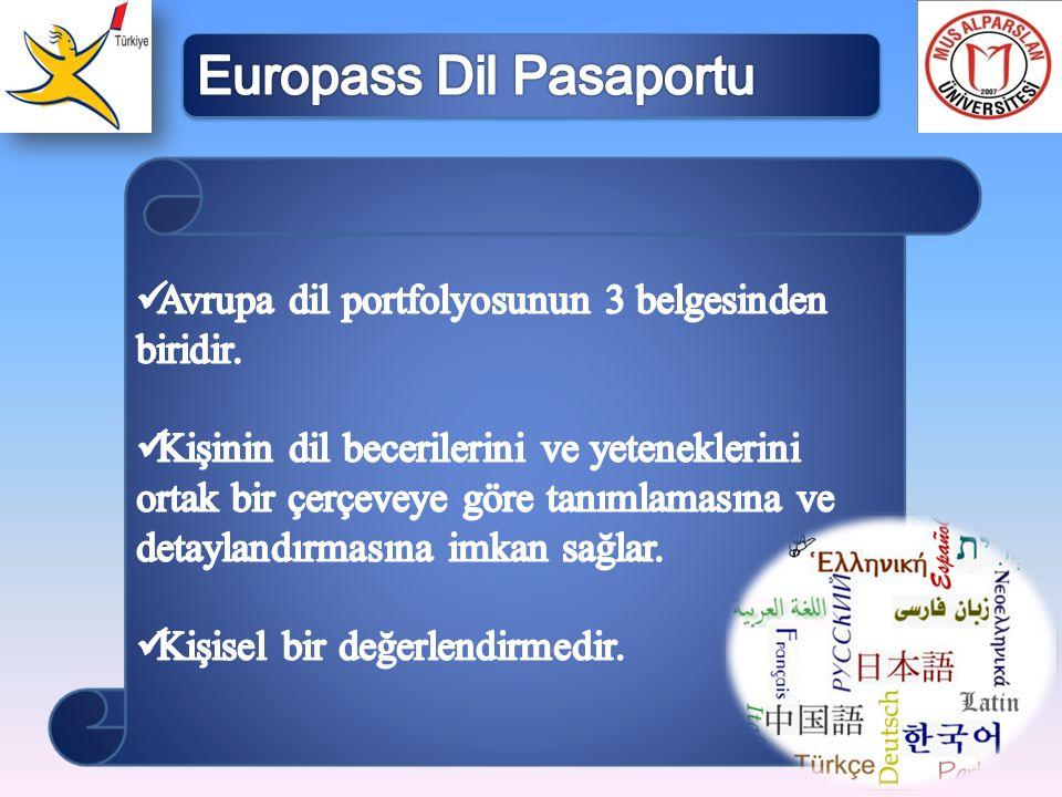 Europass Dil Pasaportu