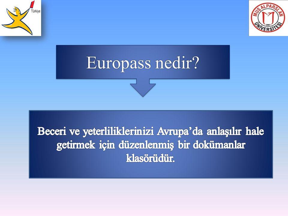 Europass nedir.