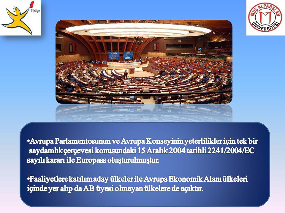 Avrupa Parlamentosunun ve Avrupa Konseyinin yeterlilikler için tek bir