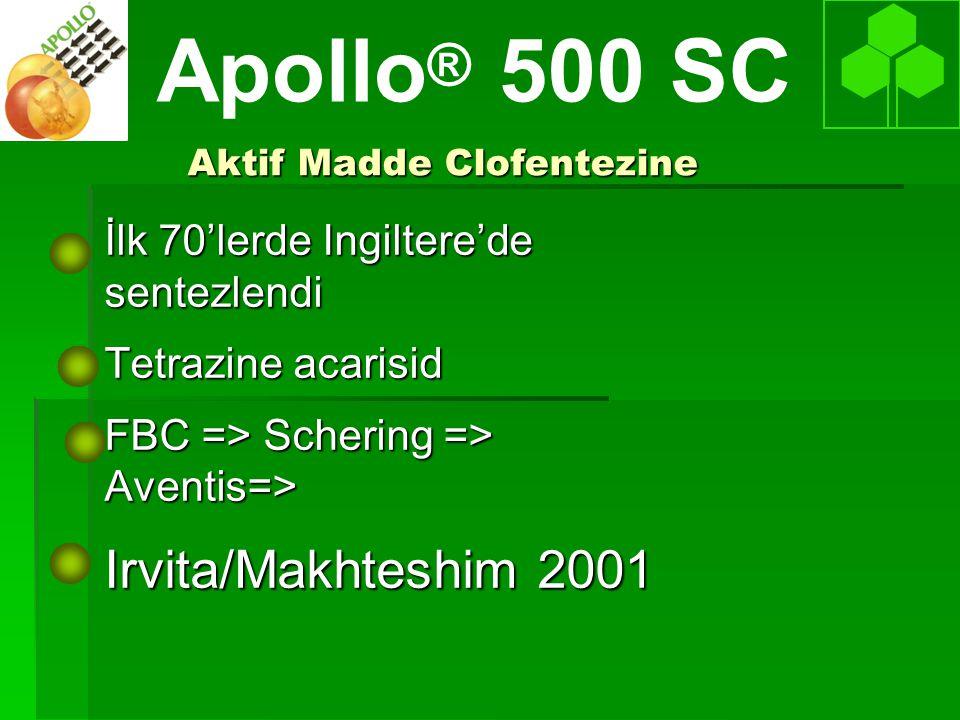 Aktif Madde Clofentezine