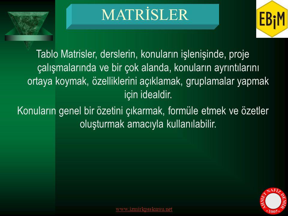 MATRİSLER AHMET NAFİZ DEMİR * * 2005