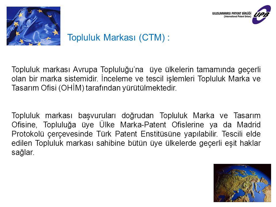 Topluluk Markası (CTM) :