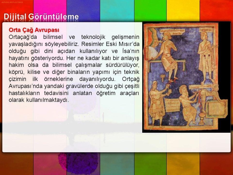 Dijital Görüntüleme Orta Çağ Avrupası