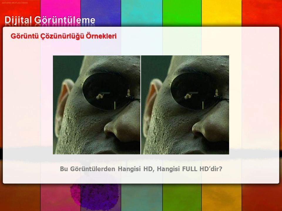 Bu Görüntülerden Hangisi HD, Hangisi FULL HD'dir