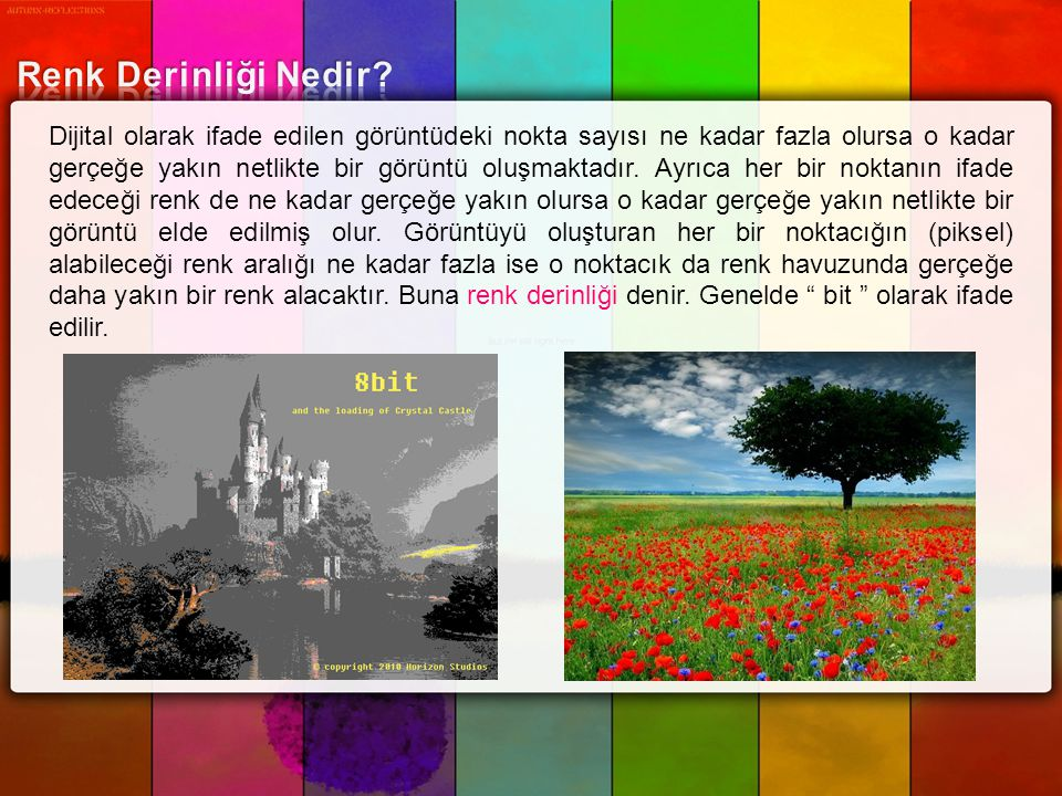 Renk Derinliği Nedir