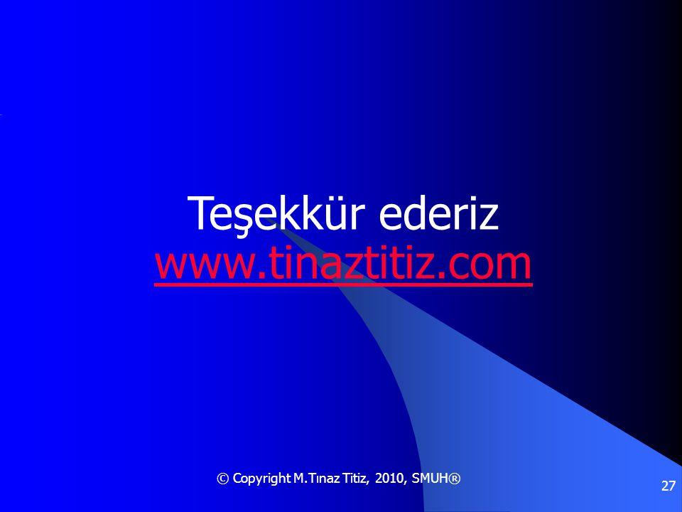 Teşekkür ederiz www.tinaztitiz.com