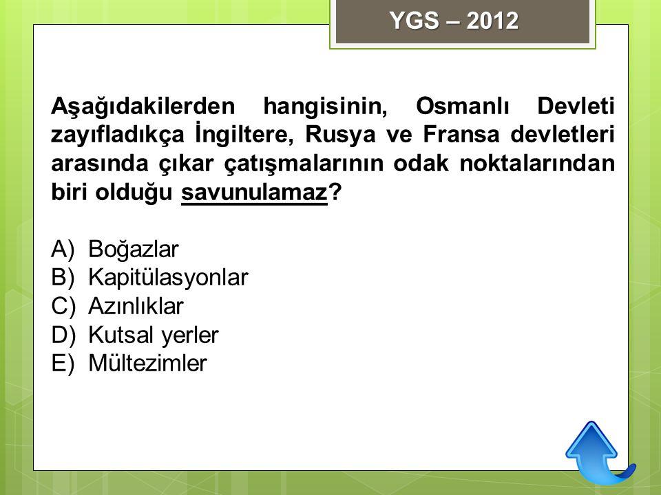 YGS – 2012