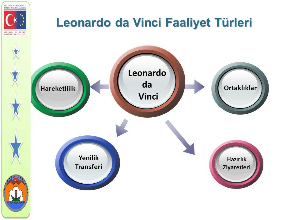 Leonardo da Vinci Faaliyet Türleri