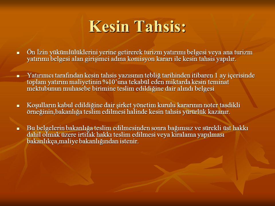 Kesin Tahsis: