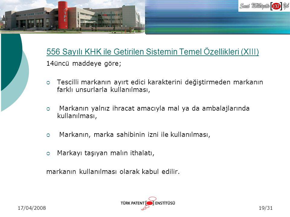 556 Sayılı KHK ile Getirilen Sistemin Temel Özellikleri (XIII)