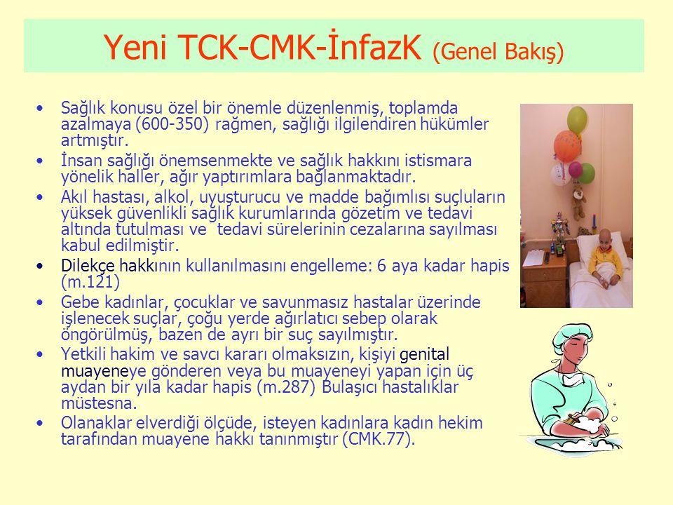 Yeni TCK-CMK-İnfazK (Genel Bakış)