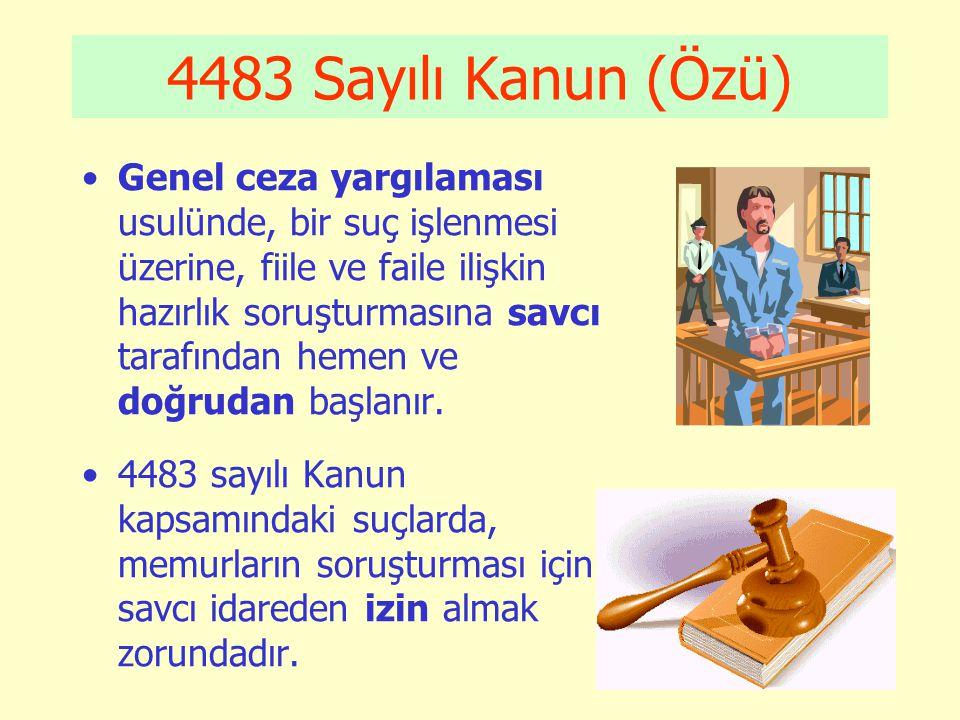 4483 Sayılı Kanun (Özü)