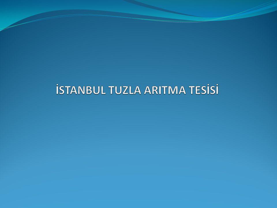 İSTANBUL TUZLA ARITMA TESİSİ
