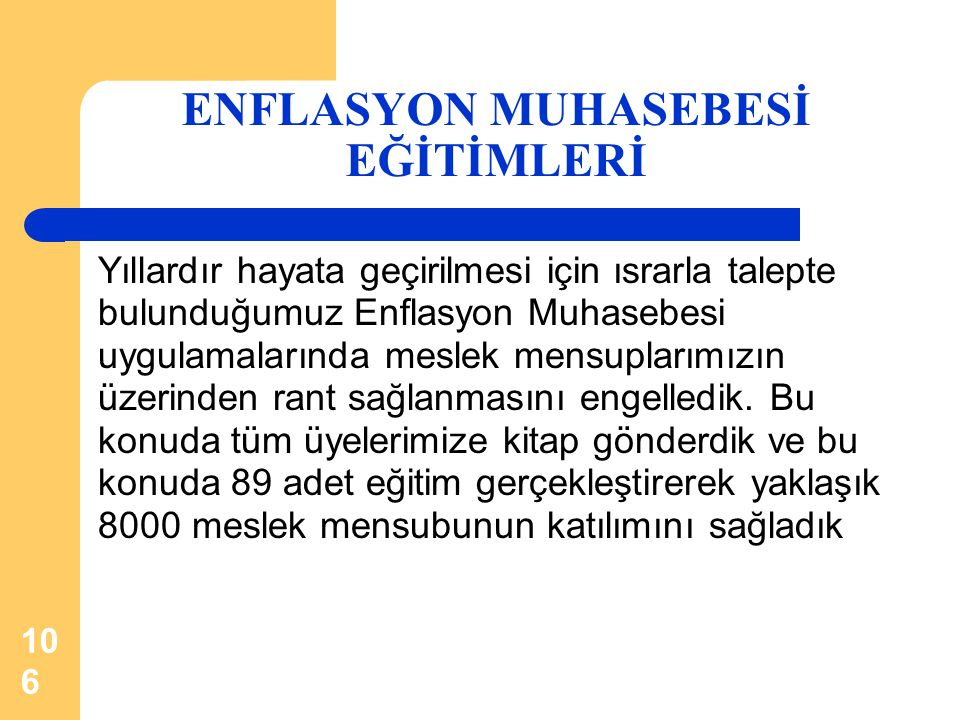 ENFLASYON MUHASEBESİ EĞİTİMLERİ