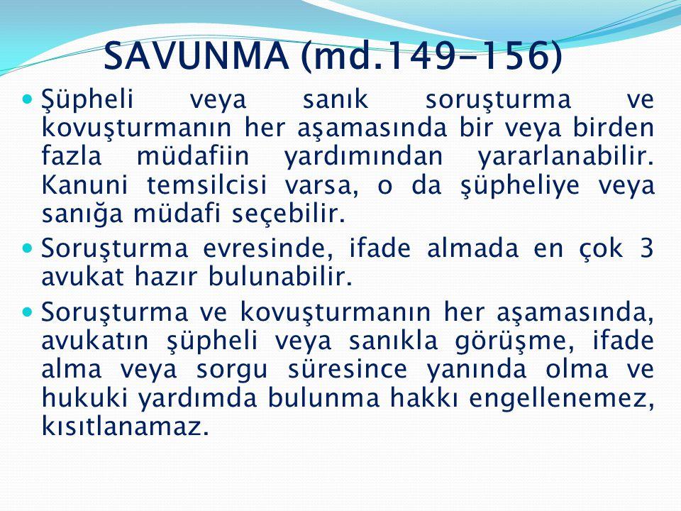 SAVUNMA (md.149-156)