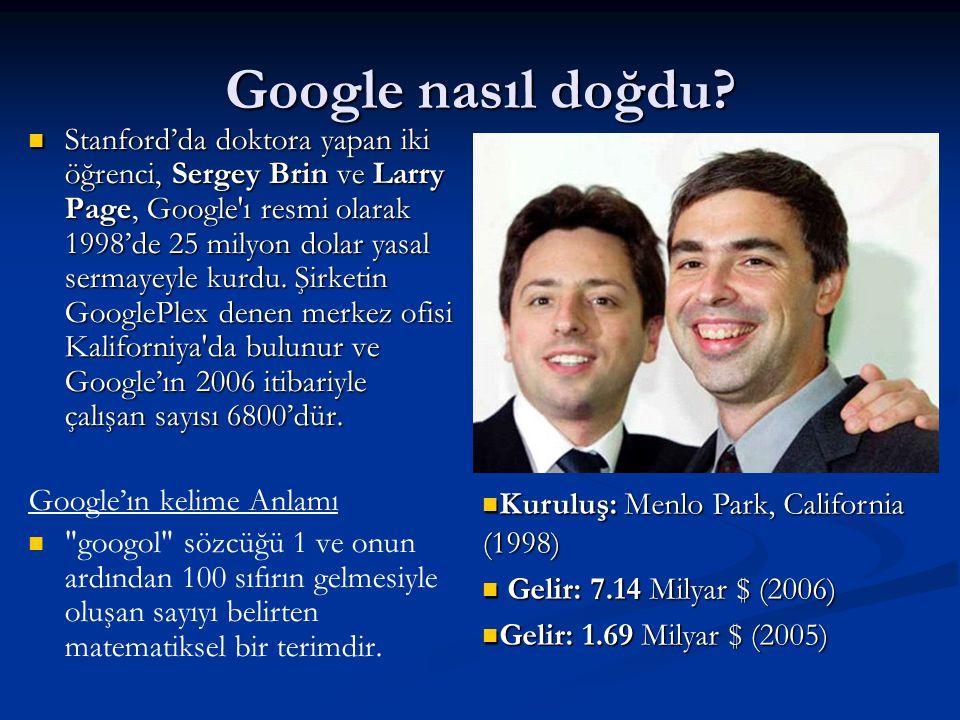 Google nasıl doğdu