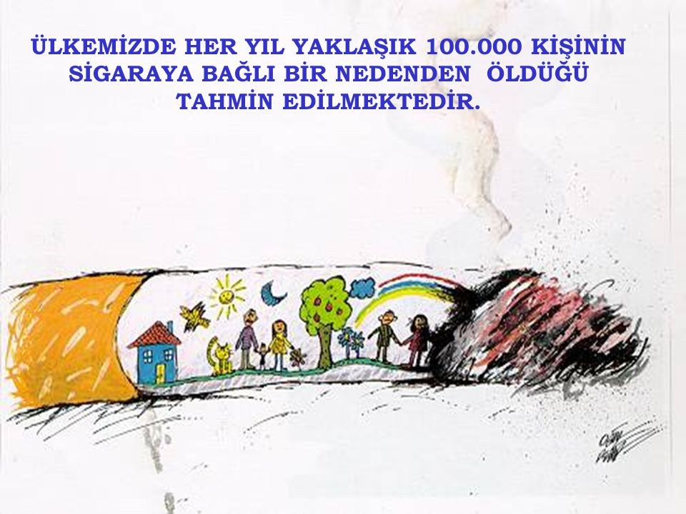ÜLKEMİZDE HER YIL YAKLAŞIK 100