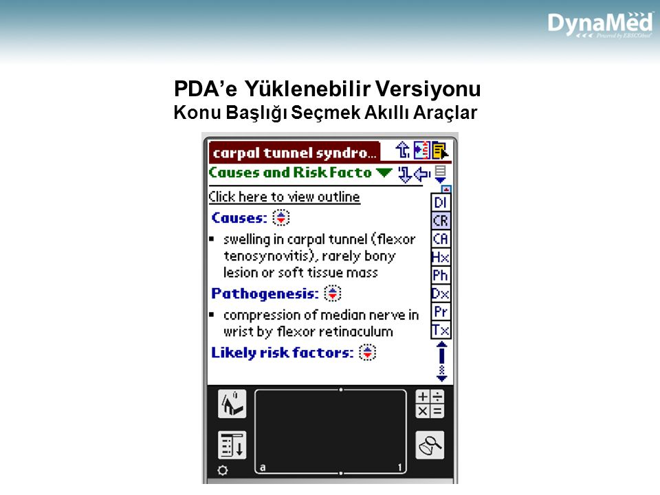 PDA'e Yüklenebilir Versiyonu Konu Başlığı Seçmek Akıllı Araçlar