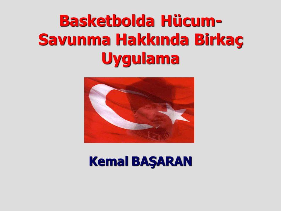 Basketbolda Hücum-Savunma Hakkında Birkaç Uygulama