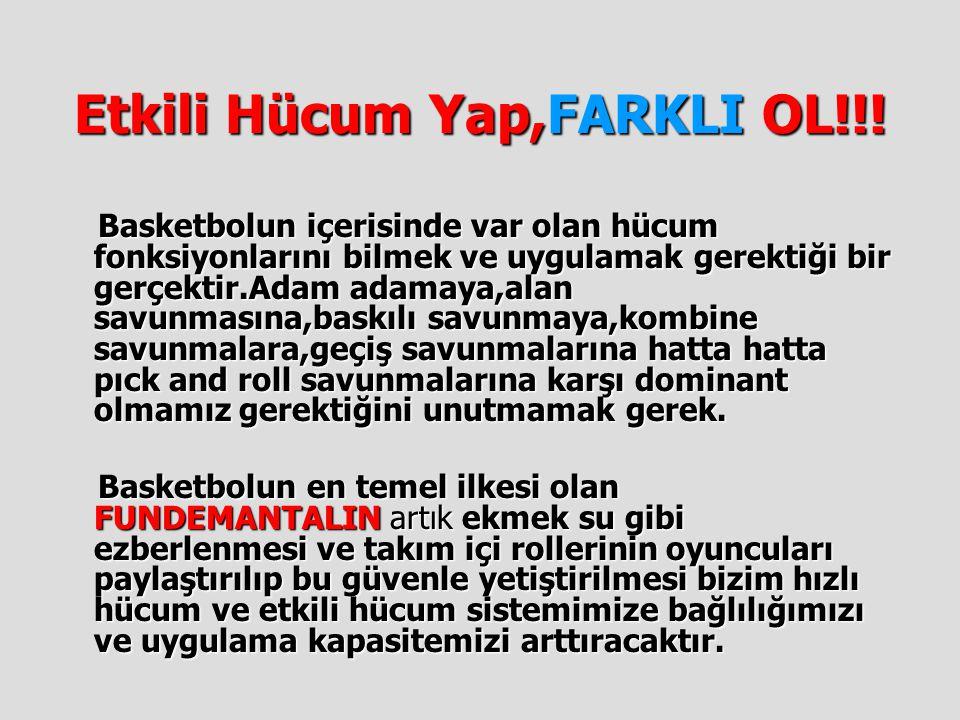Etkili Hücum Yap,FARKLI OL!!!