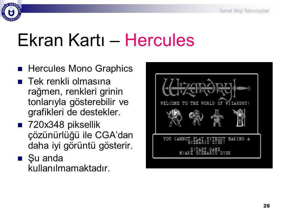 Ekran Kartı – Hercules Hercules Mono Graphics