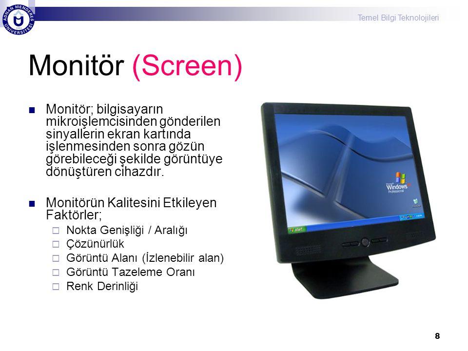 Monitör (Screen)