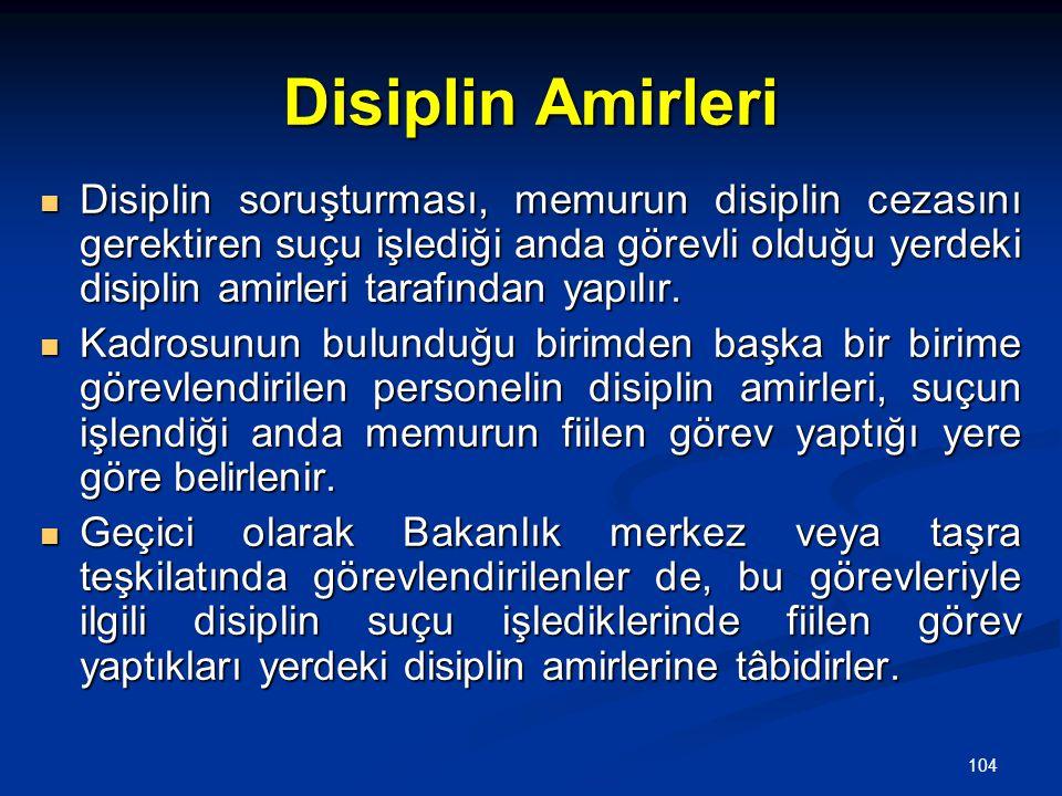Disiplin Amirleri