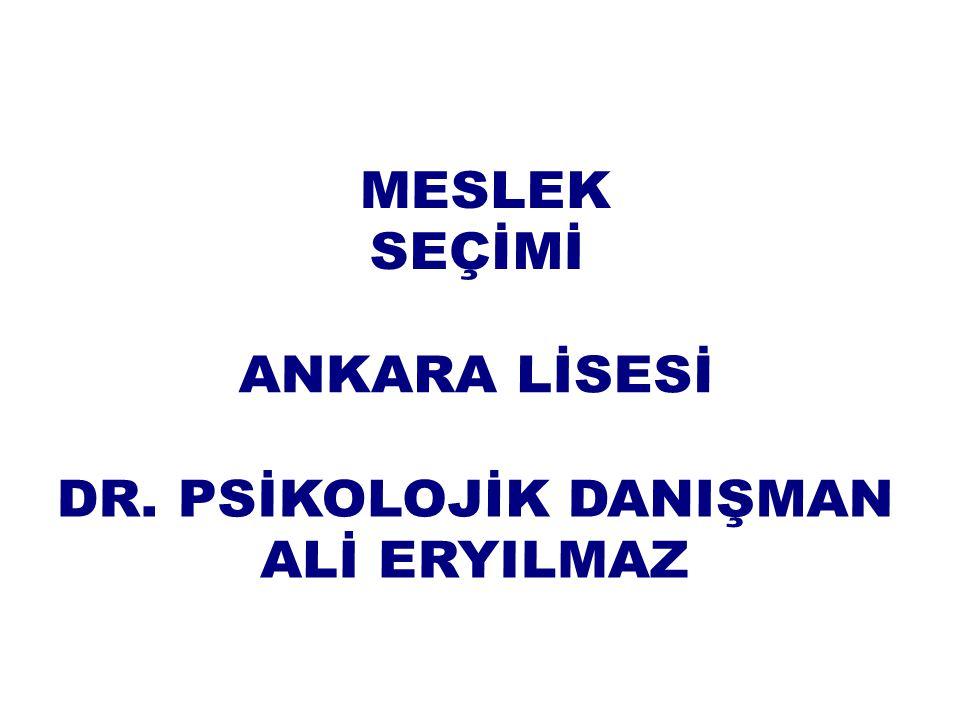 DR. PSİKOLOJİK DANIŞMAN