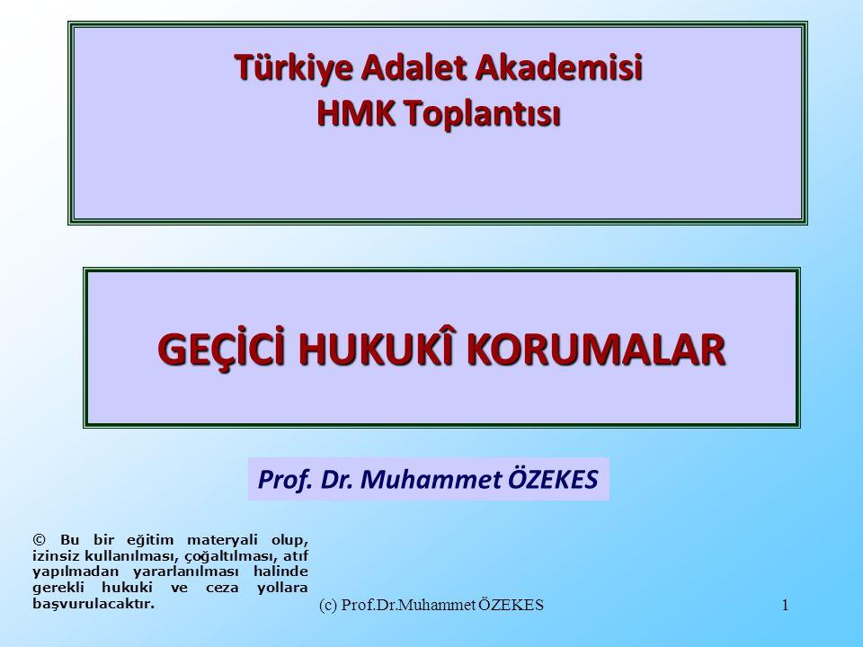 Türkiye Adalet Akademisi HMK Toplantısı