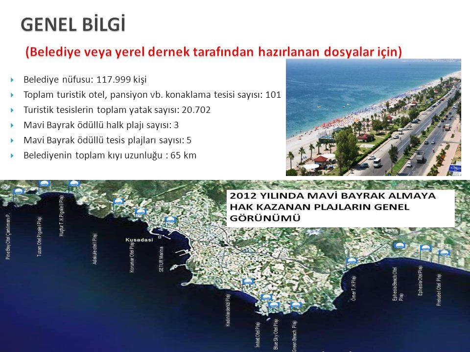 GENEL BİLGİ (Belediye veya yerel dernek tarafından hazırlanan dosyalar için)