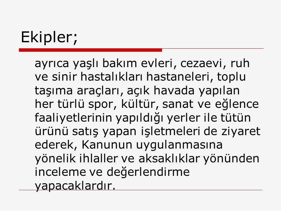Ekipler;