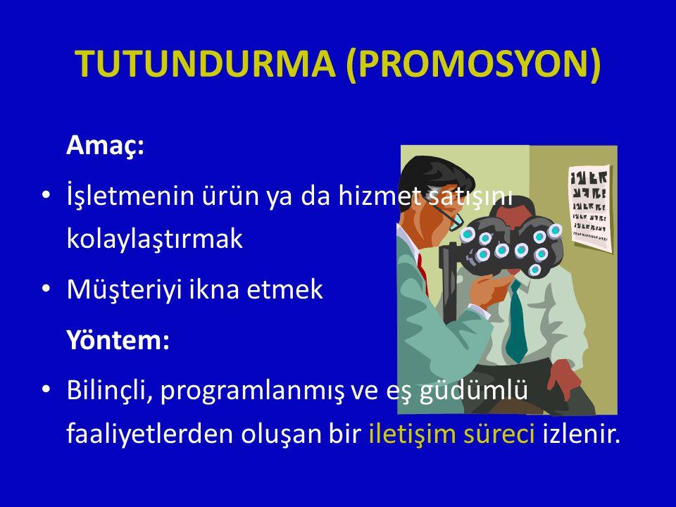 TUTUNDURMA (PROMOSYON)